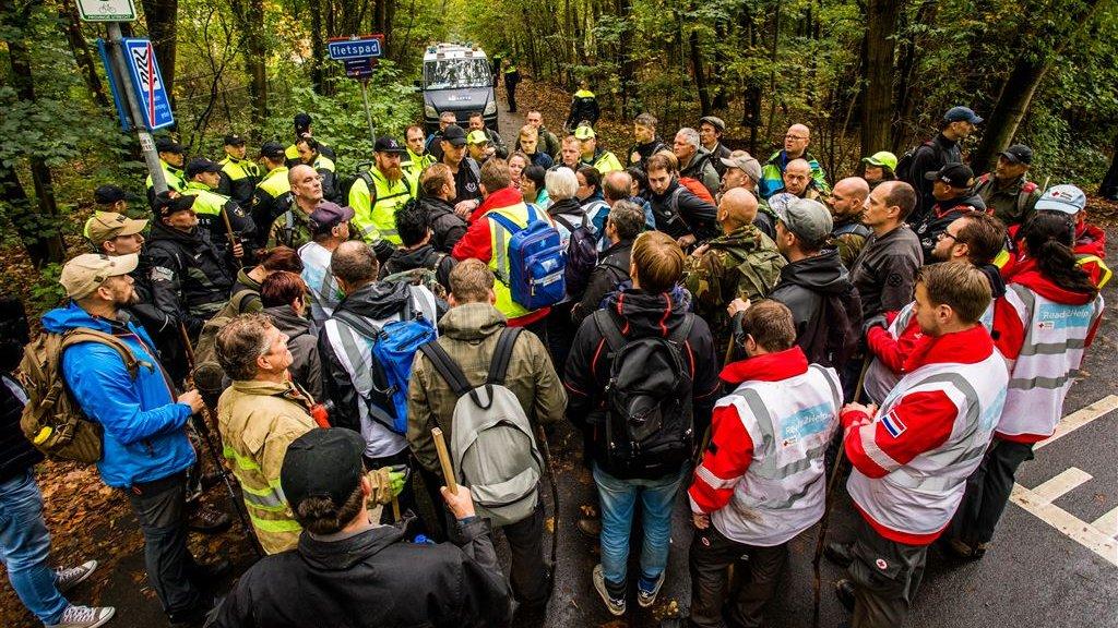 Vrijwilligers zochten massaal mee naar Anne Faber
