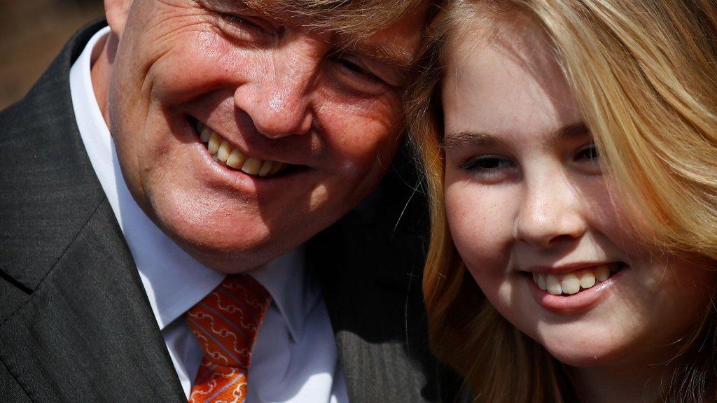 Amalia Viert 14de Verjaardag Rtl Nieuws
