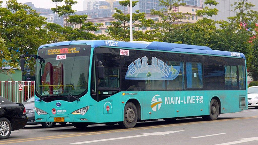 Alle 16 359 Bussen In Shenzhen Rijden Elektrisch Bright