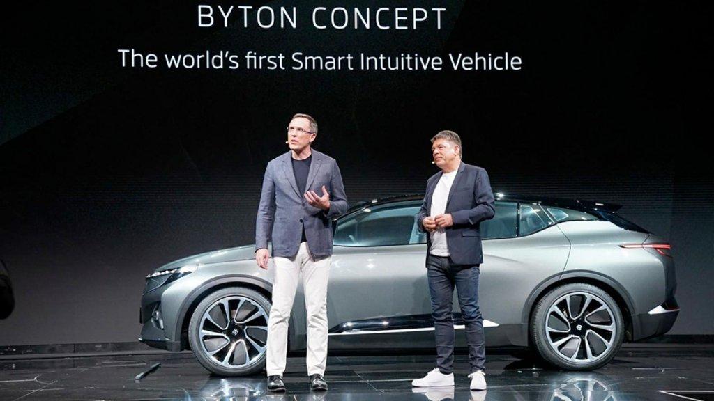 Chinese Nieuwkomer Byton Wil Auto Industrie Opschudden Rtl Nieuws
