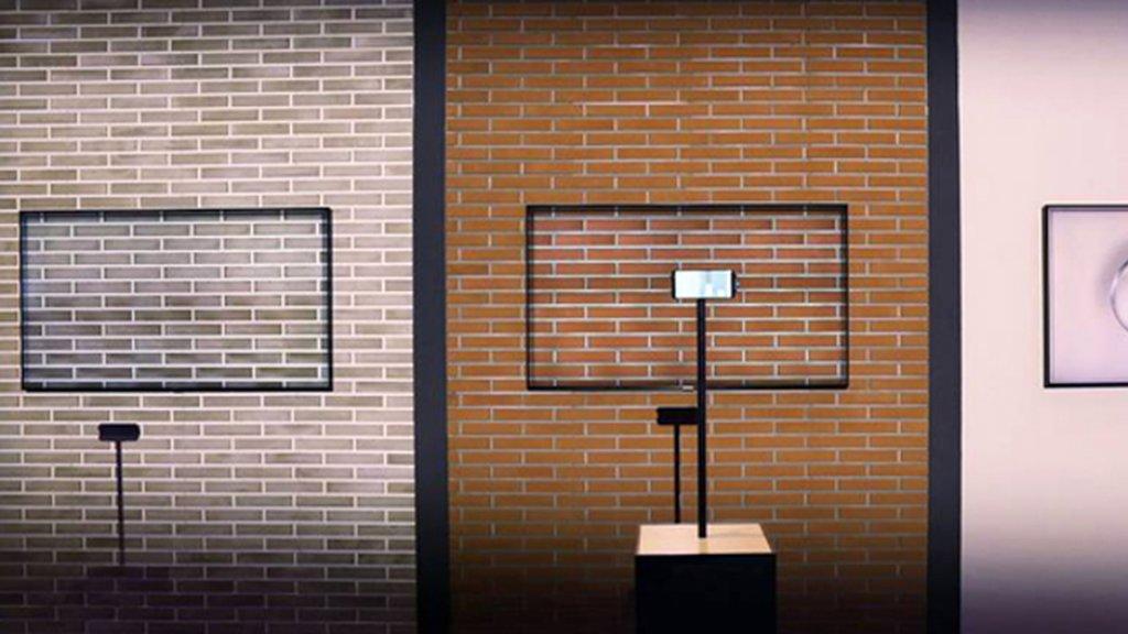 Tv In Muur : Zo werkt de ambient mode in samsung qled tv s bright