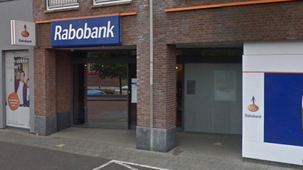 De Rabobank in Oudenbosch werd begin maart overvallen.