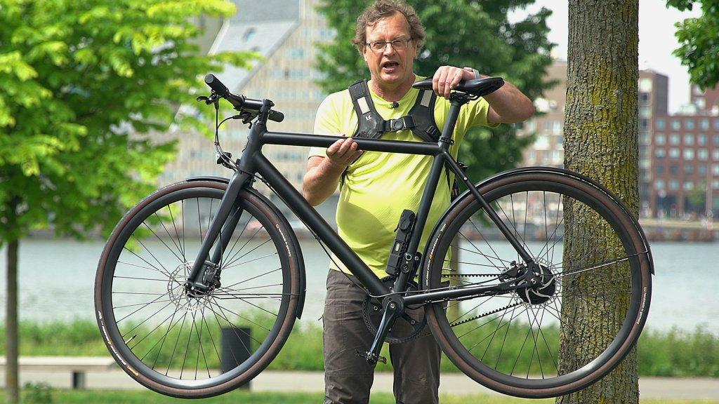 Lichte E Bike : Getest: e bike ampler curt is erg licht en snel bright