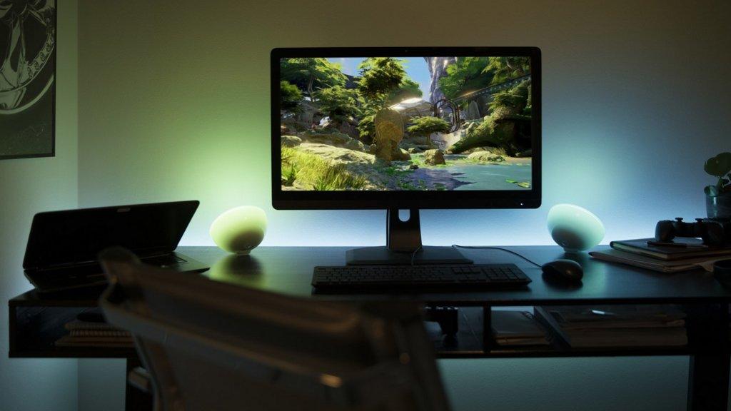 hue lampen reageren nu ook op films en games op je computer bright. Black Bedroom Furniture Sets. Home Design Ideas