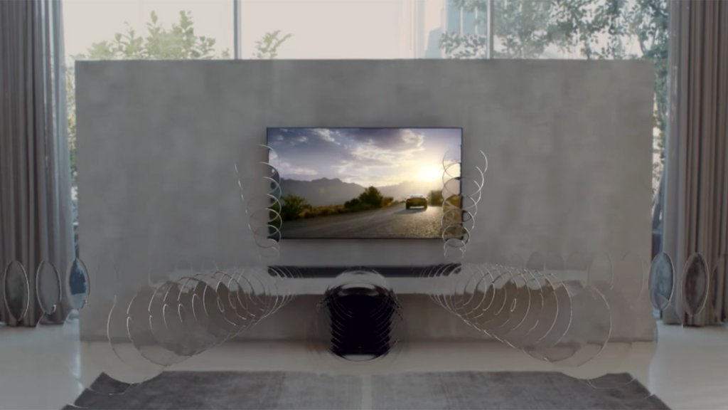 Een hometheater-systeem van LG met Dolby Atmos