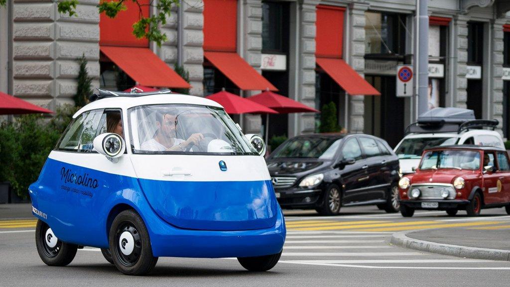 Deze Elektrische Mini Auto Mag De Weg Op Bright