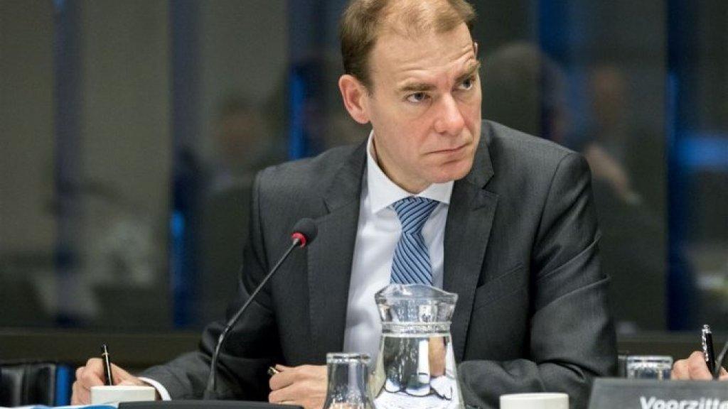 Staatssecretaris van Financiën Menno Snel.