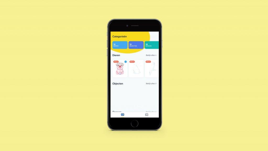 Kleurplaten Kleuren Spelletjes.5x Ontspannen Met Kleur Apps Rtl Nieuws