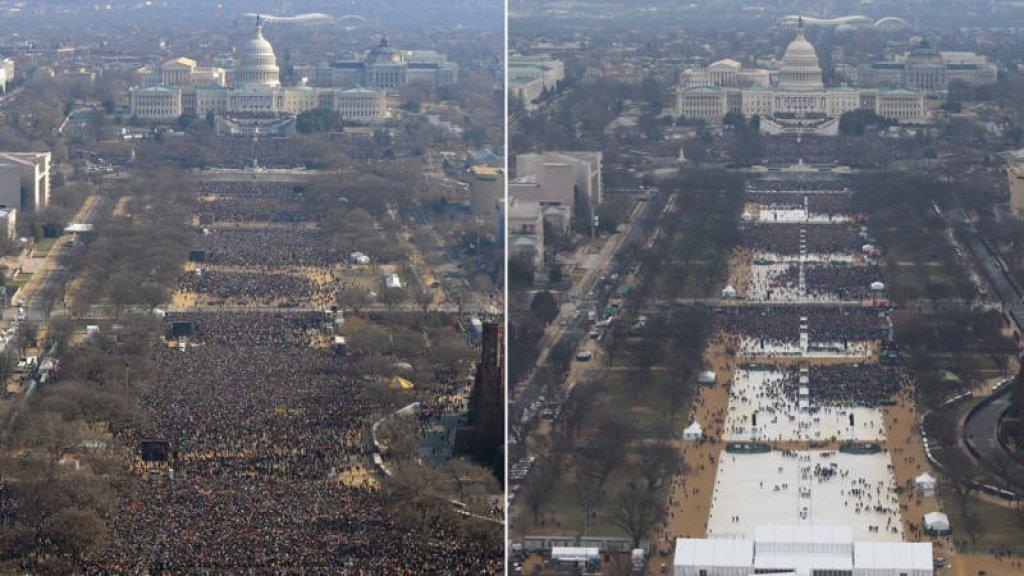Fotograaf geeft toe: Ik heb fotos inhuldiging Trump bewerkt