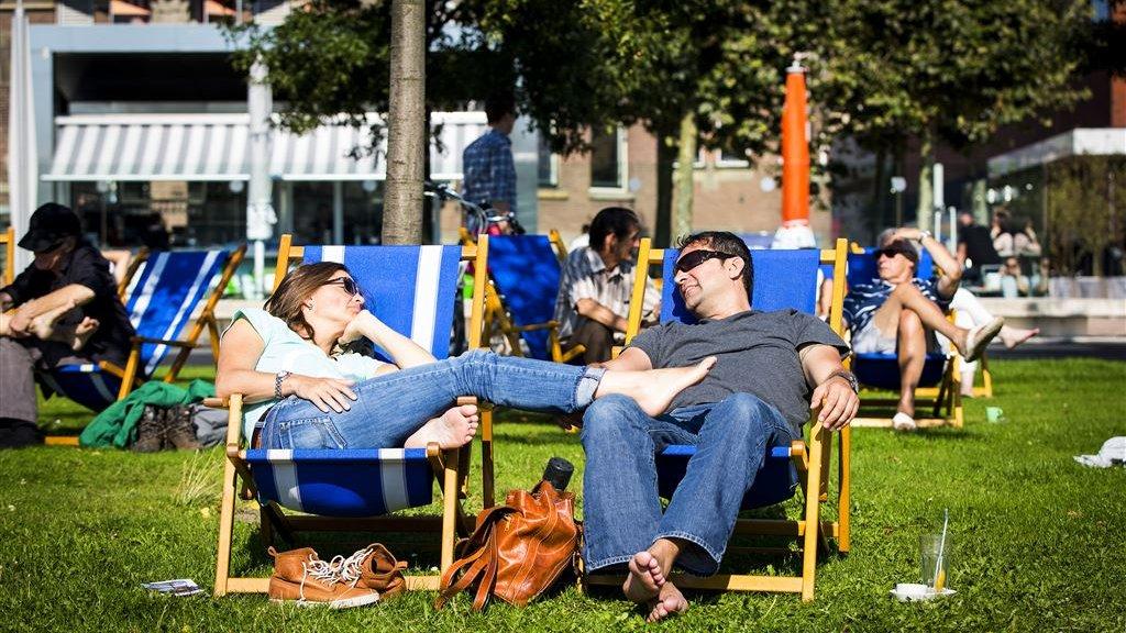Record na record dit weekend: 'Misschien wel warmste late zomerdag ooit'