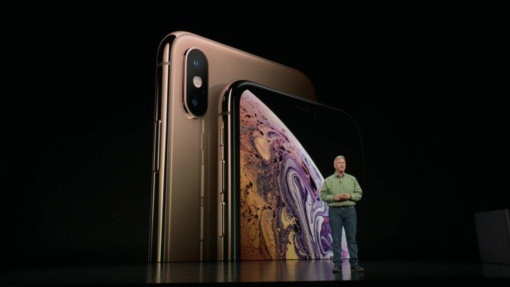 De iPhone Xs Max is de grootste iPhone ooit met een 6,5 inch-scherm.
