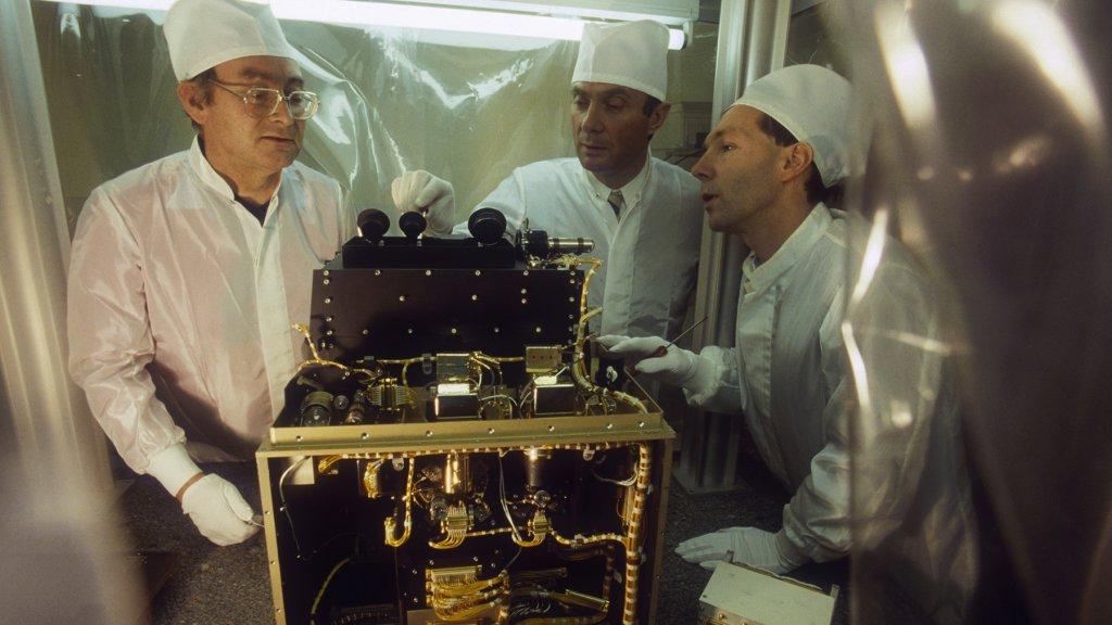 Franse wetenschappers onderzoeken de ozonlaag in 1988