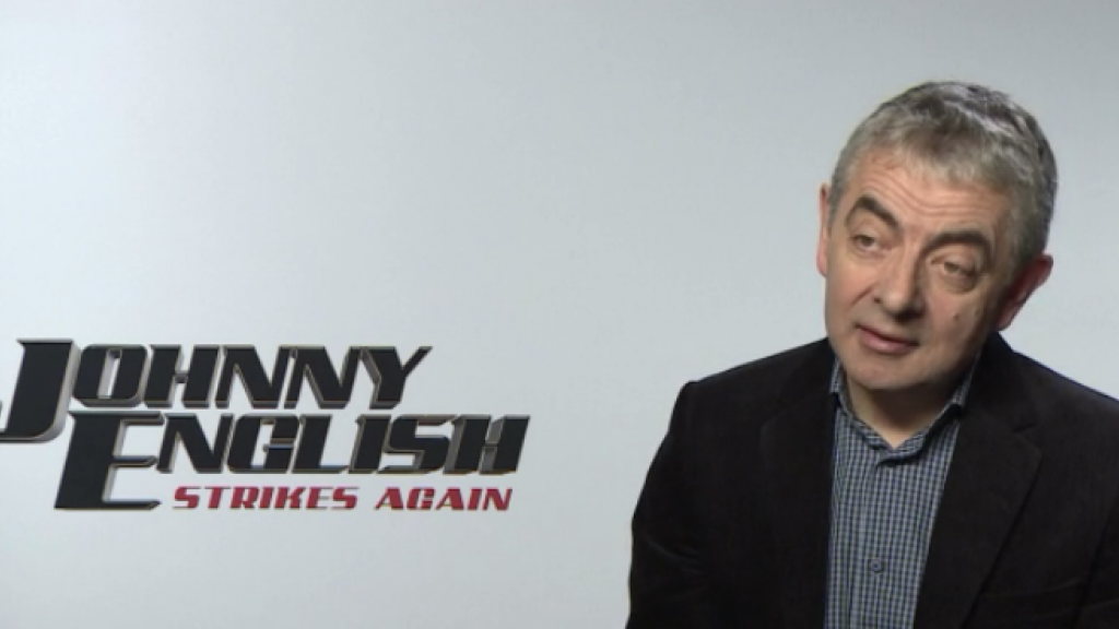 Mr. Bean transformeert in superspion Johnny English