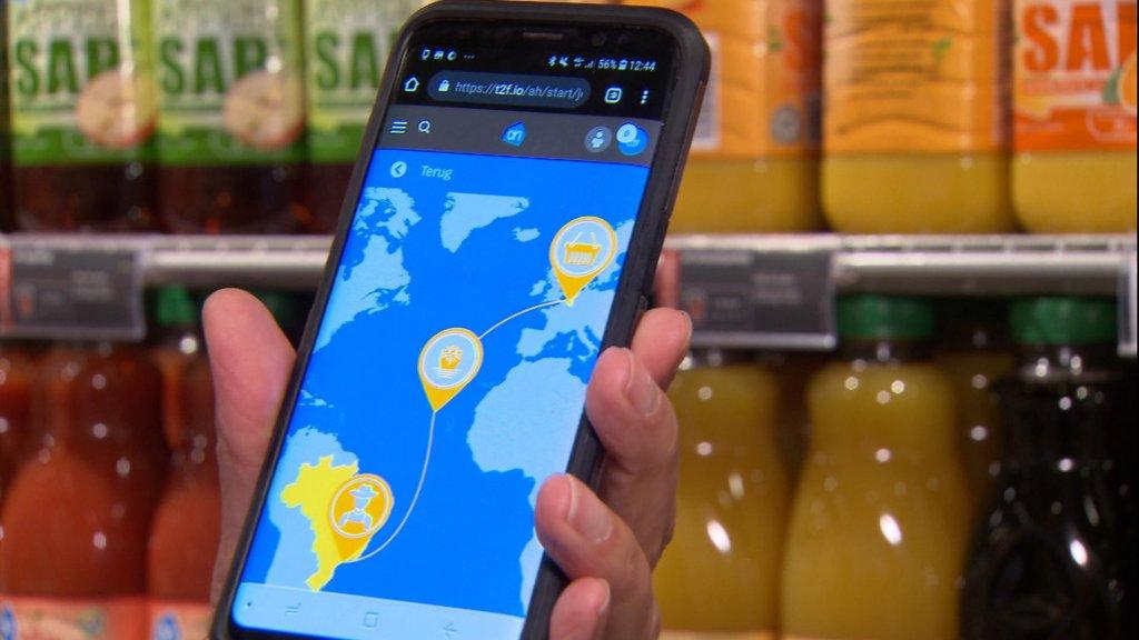 Appie gebruikt blockchain: hier komt je sinaasappelsap vandaan