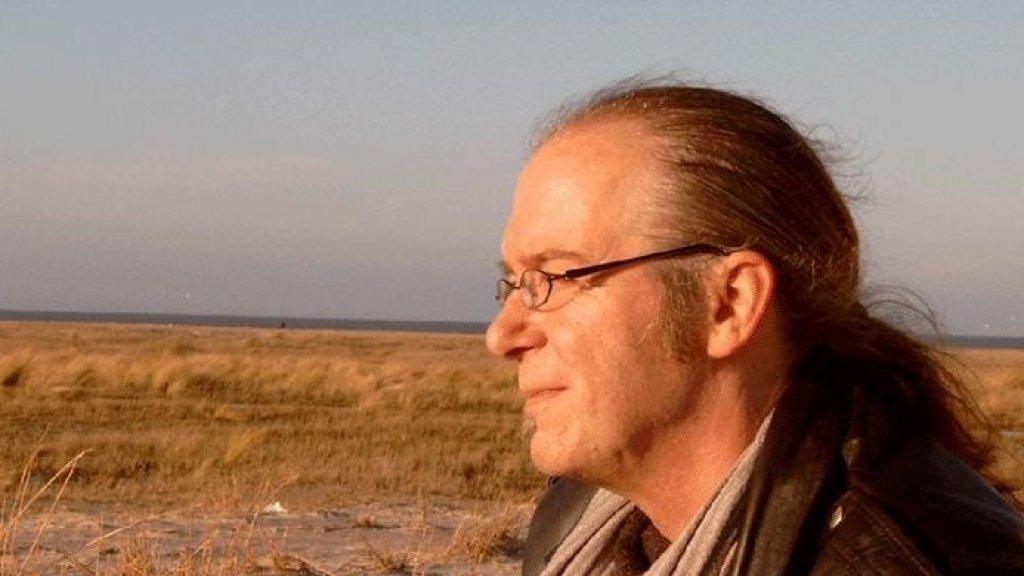 Een gezonde Hans op Schiermonnikoog.