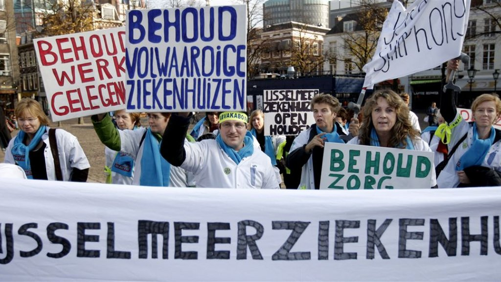 In 2009 bestond ook zorg over het voortbestaan van de IJsselmeerziekenhuizen.