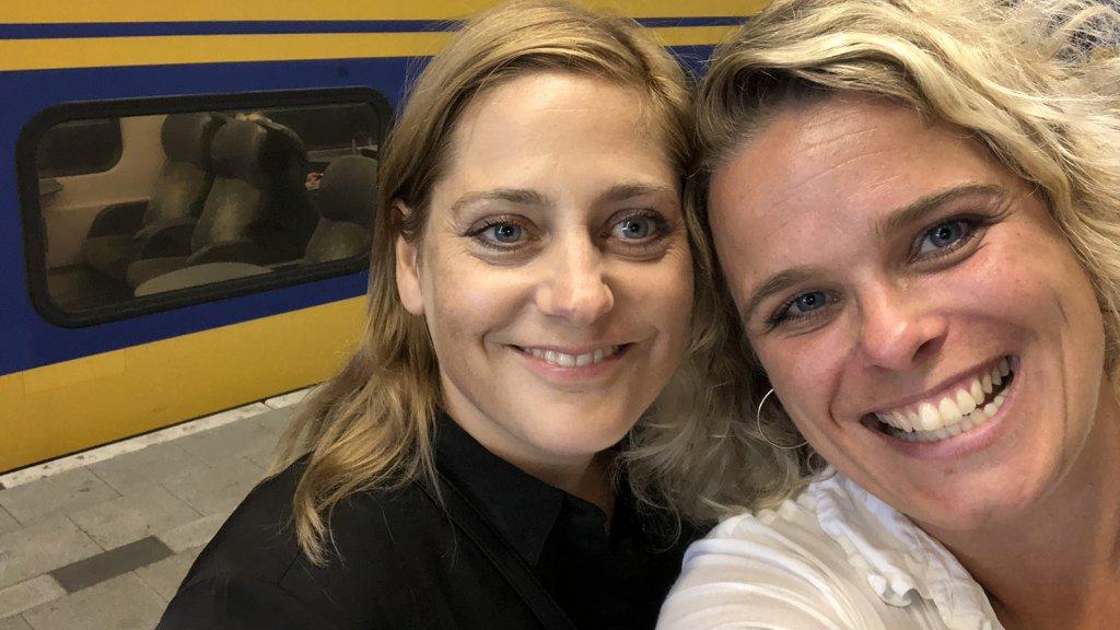 Susanne en Hanneke zijn er klaar voor...