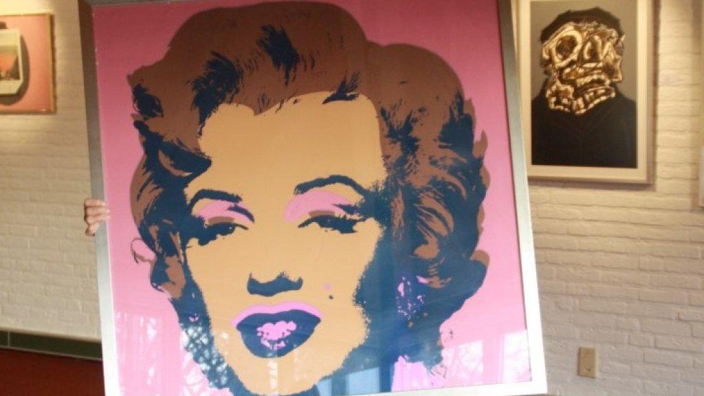 Warhol, maar wel hartstikke nep.