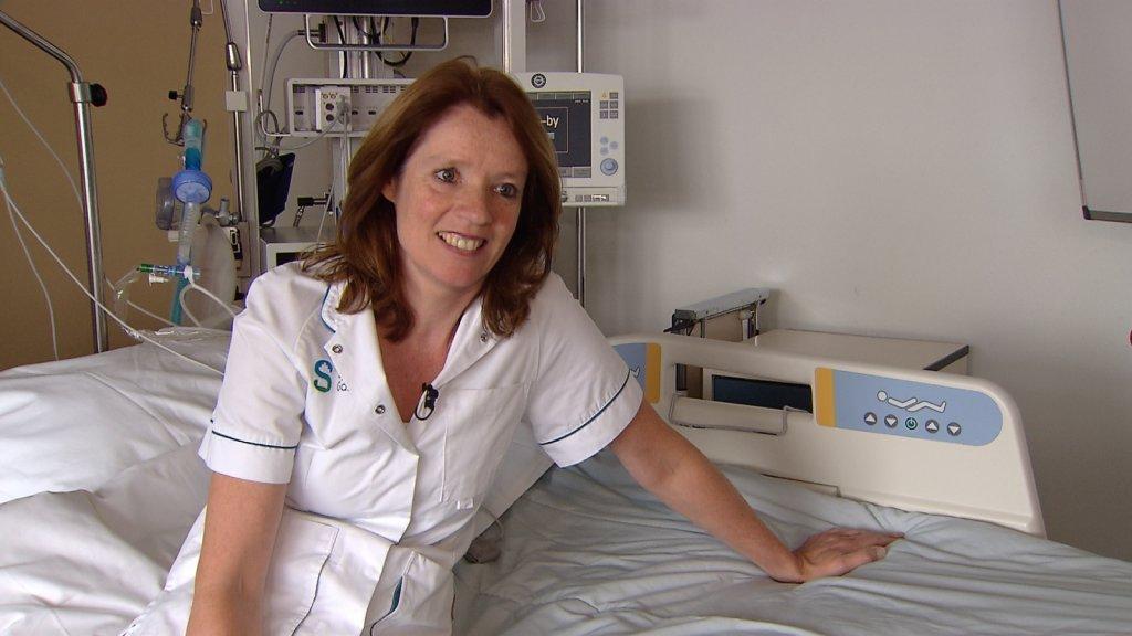 Lorette Gijsbers werkt als verpleegkundige op de intensive care.