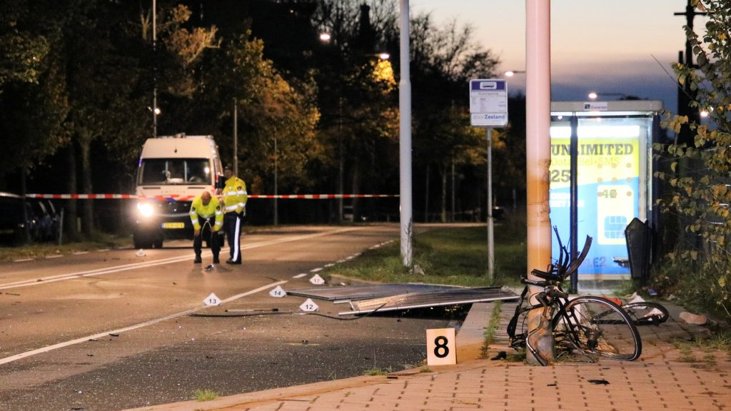 Het ongeluk gebeurde op kruising Van De Spiegelstraat/Kloetingseweg in Goes.