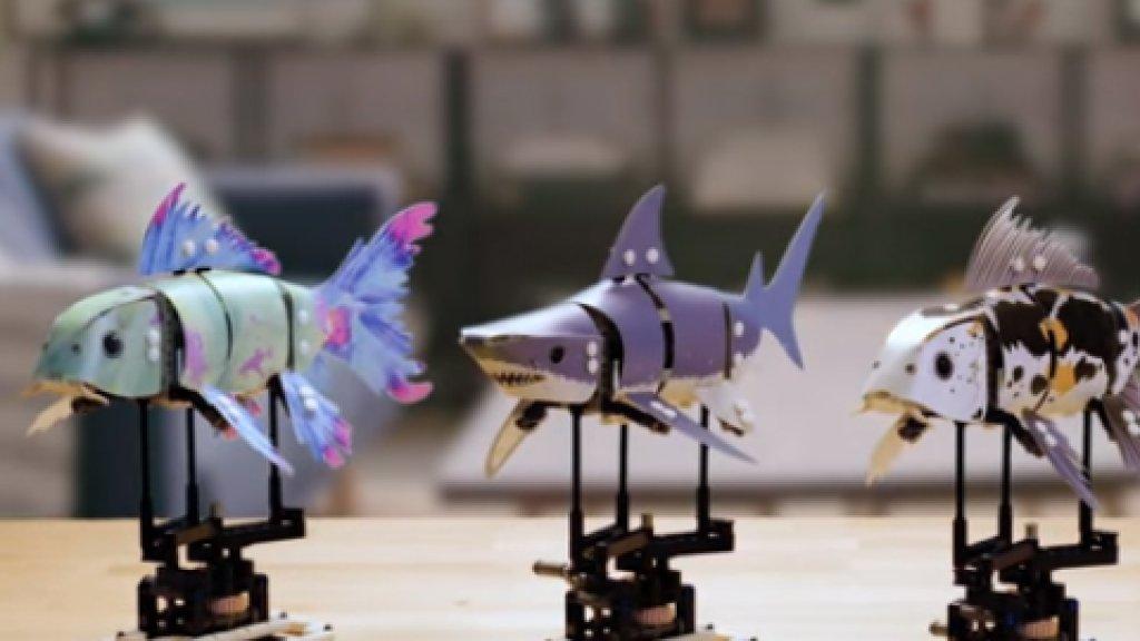 De Legovissen voor volwassenen.