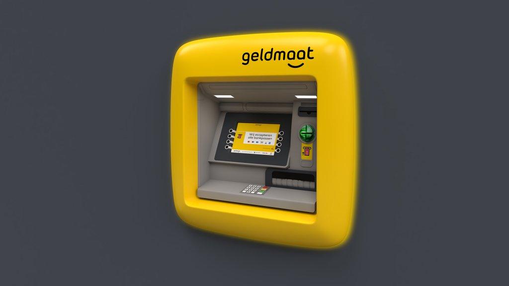 De nieuwe automaten van Geldmaat.