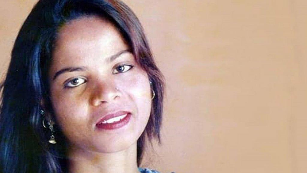 Asia Bibi werd in 2010 ter dood veroordeeld.