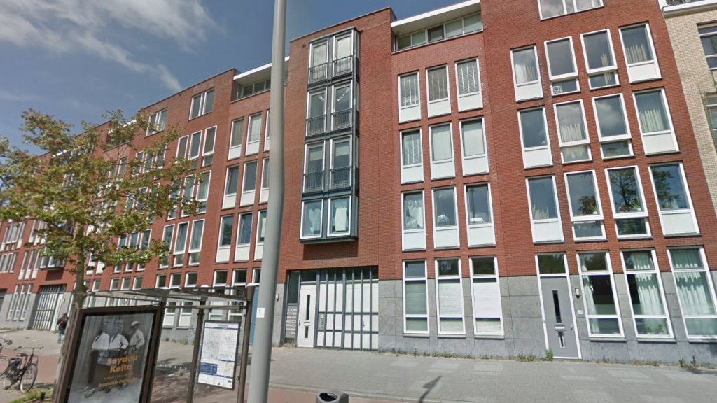 Het genoemde appartementencomplex in Rotterdam.