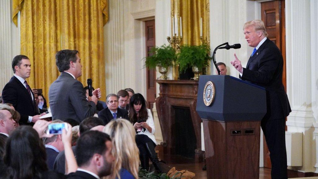 CNN-verslaggever mag Witte Huis niet meer in na clash met Trump