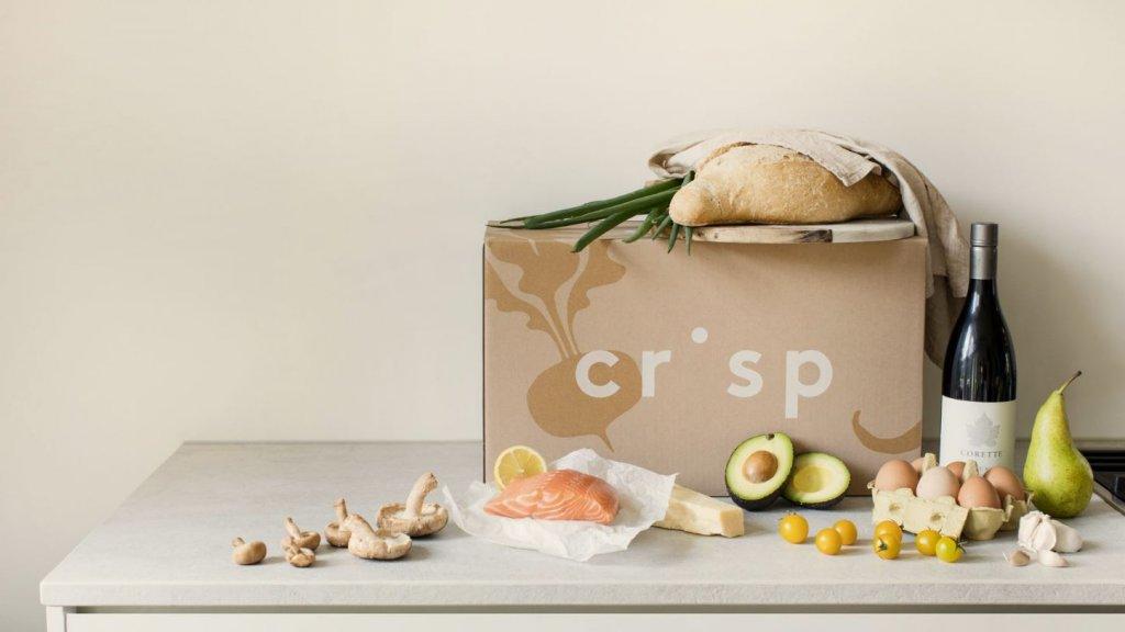 Crisp richt zich op mensen op weinig tijd, die 'van kwaliteitsproducten houden'.