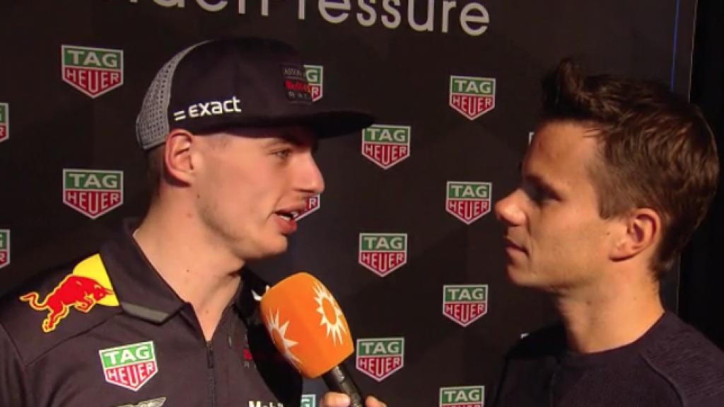 Max Verstappen in Nederland voor presentatie horloge