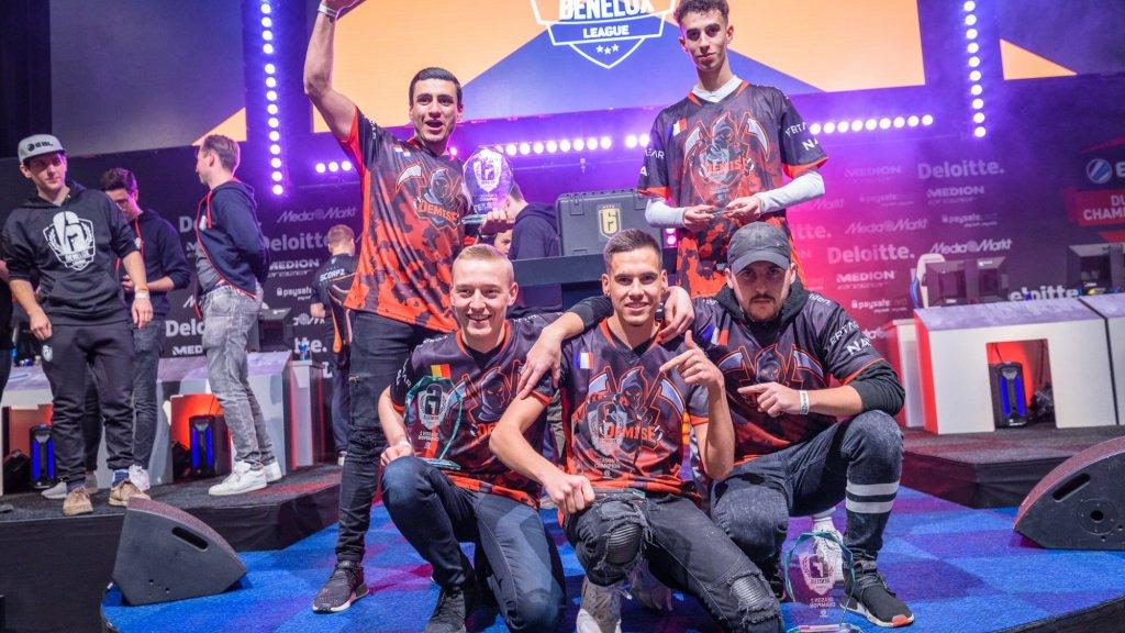 Team Demise won de titel bij Rainbow Six Siege
