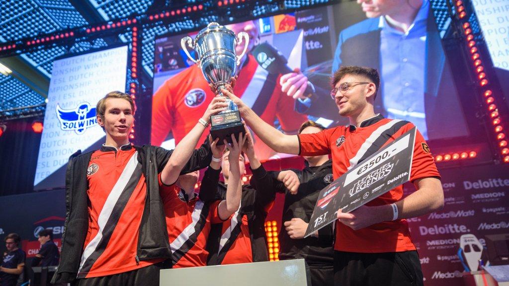 Team Echo Zulu won bij League of Legends