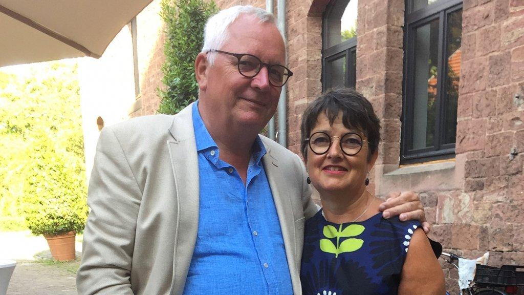 Roel en Coos, de ouders van Harm.