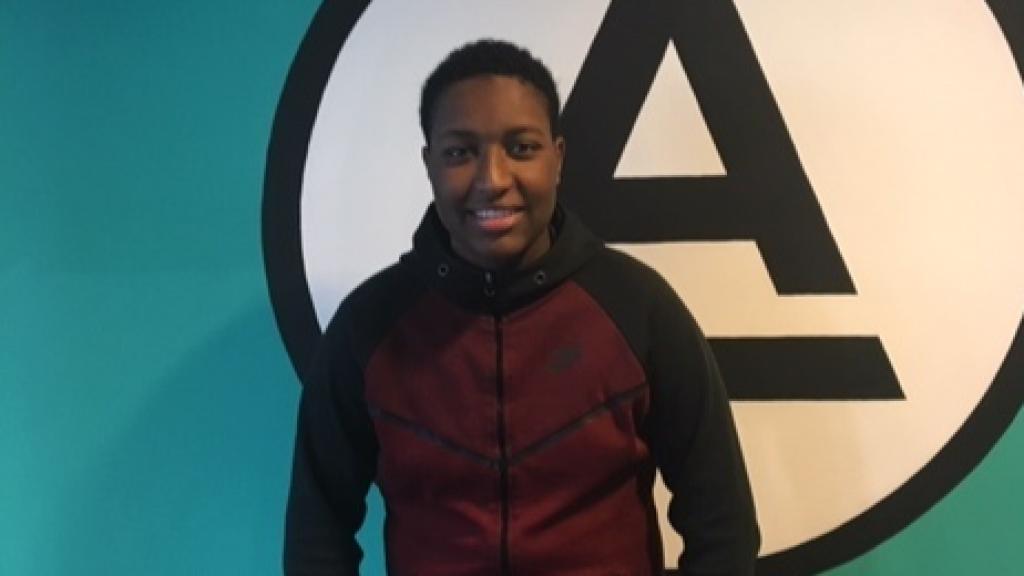 Ailton (18), oud-leerling van Accent.