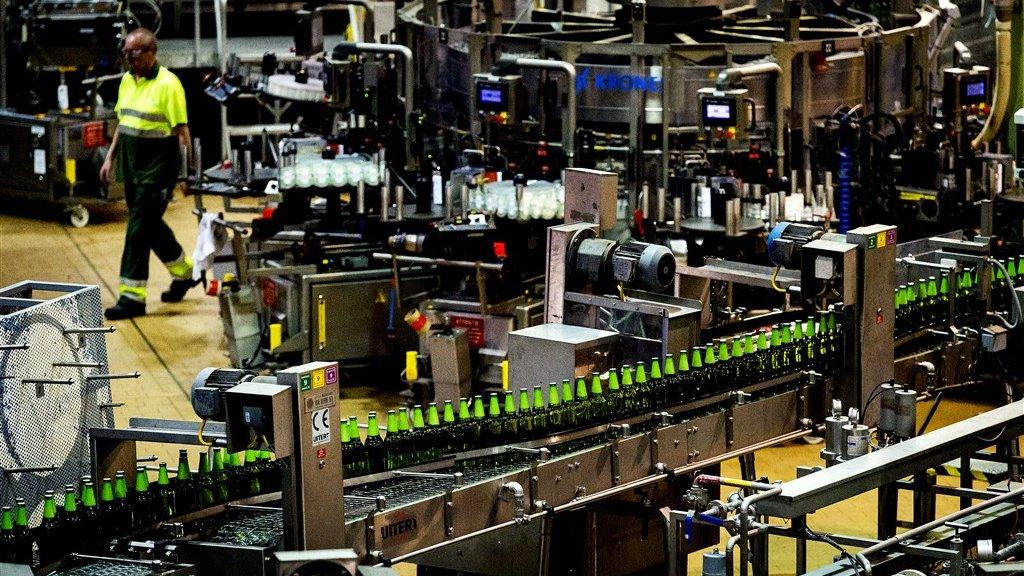 Fabriek van Heineken in Zoeterwoude