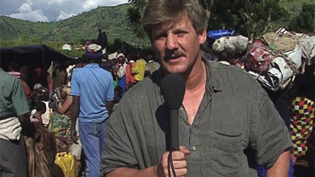 Zijn bezoek aan een vluchtelingenkamp in Rwanda heeft veel indruk gemaakt op Jaap.