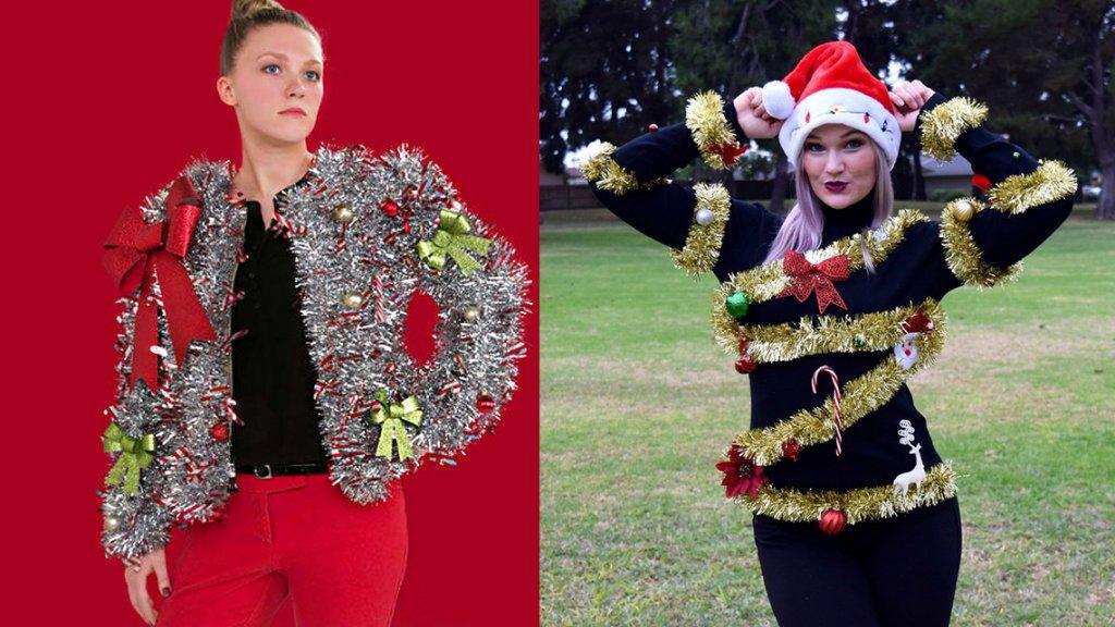 Foute Kersttrui Zelf Maken.Knutsel Je Eigen Kersttrui Rtl Nieuws