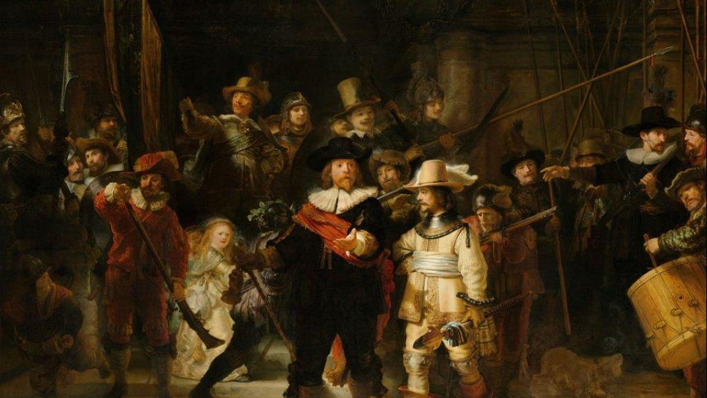 De Nachtwacht van Rembrandt van Rijn.