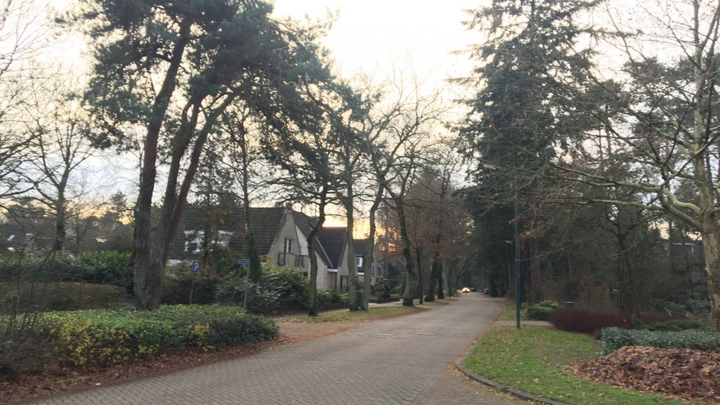 De groene omgeving van Maarn maakt het dorp geliefd bij inwoners en inbrekers.