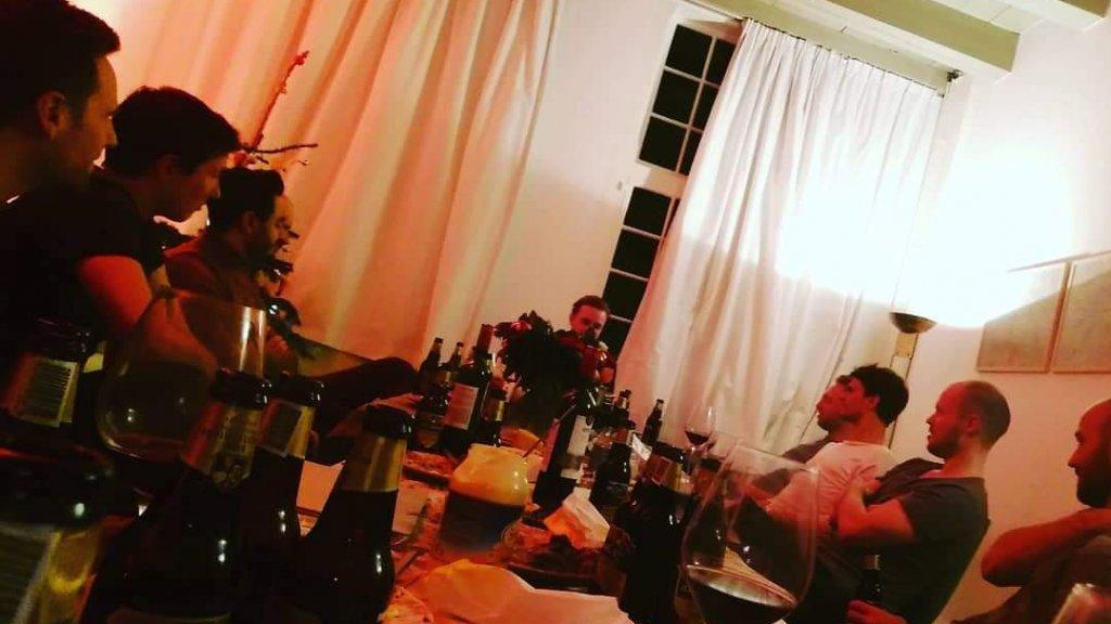 Derde kerstdag met de vrienden van Maarten.