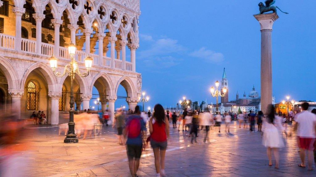 Zo rustig als hier is het in Venetië meestal niet.