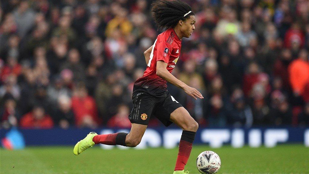 Tahith Chong debuteerde op 5 januari 2019 voor Manchester United