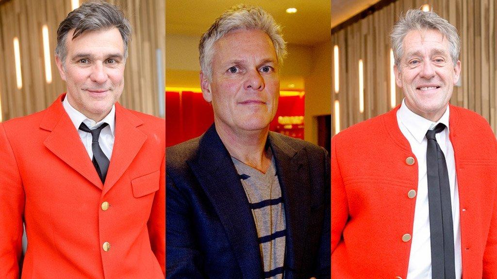 Viggo Waas, Joep van Deudekom en Peter Heerschop