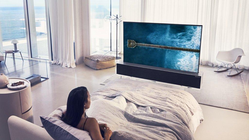 Oprolbare tv van LG