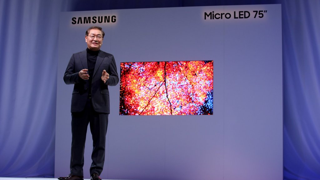 Samsung 75 inch micro-led tv
