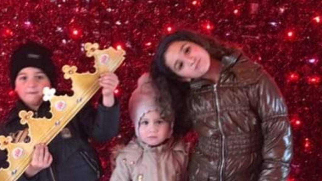 Vrej (5), Jemma (3) Shushan (8) zijn alledrie in Nederland geboren.