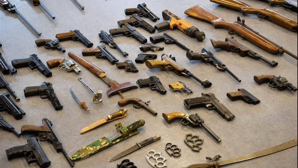 Verboden wapens konden zonder consequenties worden ingeleverd.