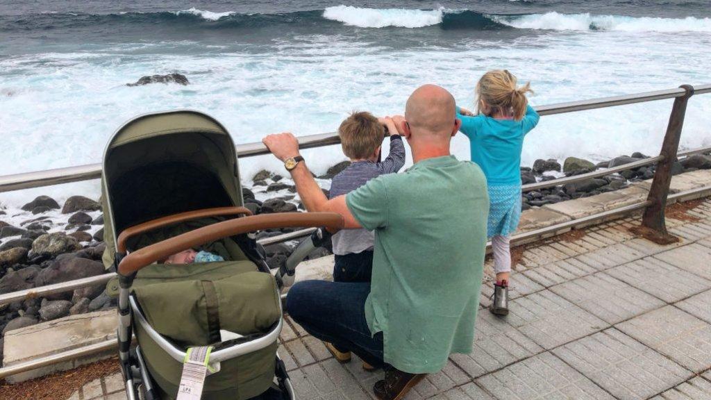 """Na het overlijden van Florian is het gezin op vakantie geweest om bij te komen. """"Dat heeft ons heel goed gedaan."""""""