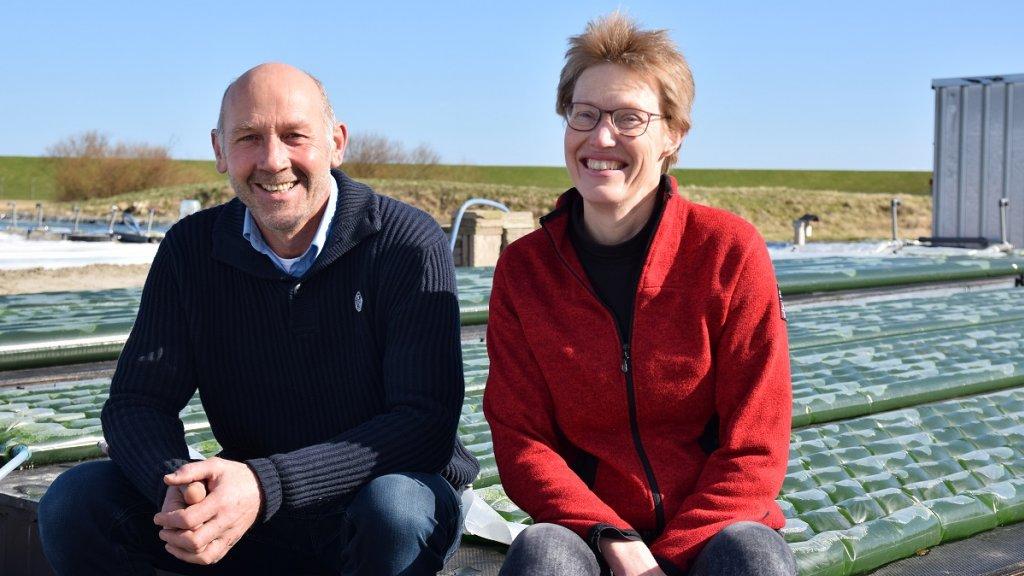 Bert Knol en Monique Schoondorp van OmegaGreen